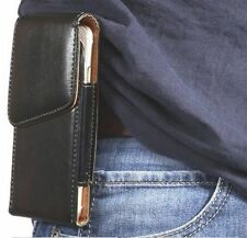 Leather Holster Case Cover Pouch with Belt Clip Loop Holder for iPhone 5 5S SE