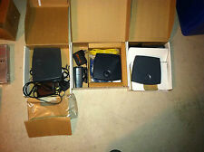 Lot 25 units of new and used fax modems, routers, switches, see below manifest