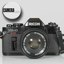 RICOH KR10 Super 35mm Film SLR Camera inc 50mm Rikenon f2 S Lens