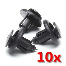 10x Plastic Bumper Linings Trays Push Rivet Trim Panel Clips 8mm Fit For Renault