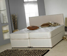 5FT KING SIZE ZIP & LINK DIVAN BED ZIP AND LINK