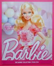 Barbie Collection Spring 2014 Catalogue/Catalog~New
