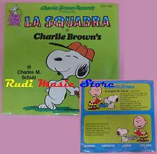 LP 45 7''LA SQUADRA DI CHARLIE BROWN'S SIGILLATO charles m. schulz 402 cd mc dvd