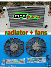 ALUMINUM RADIATOR FOR  PORSCHE 944 2.5L TURBO;S2 3.0L M/T 1985-1991 + fans