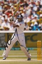ENGLAND: MICHAEL CARBERRY SIGNED 6x4 TEST ACTION PHOTO+COA