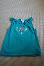 BNWT Girls Roxy  Strappy Summer Top Vest AGE 4-5 TEENIE WAHINE Green Turquoise