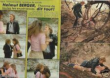 Coupure de presse Clipping 1977 Helmut Berger  (4 pages)