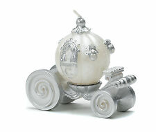 Cinderella Wedding Carriage Candles Pack of 4