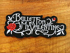 New Bullet For My Valentine Rock Music Band Sew Iron On Embroidered Patch