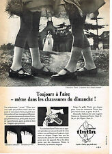 PUBLICITE ADVERTISING   1966   TINTIN  chaussures
