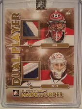 2012-13 Between The Pipes Made To Order 1/1 Patrick Roy & Carey Price Patch Dual