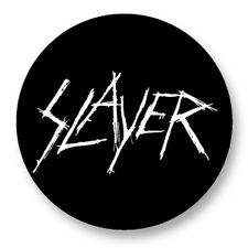 "Pin Button Badge Ø25mm 1"" Slayer Big Four Thrash Metal"