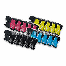 20PK New LC61 Ink Cartridge for Brother MFC-495CW MFC-J410W MFC-295CN LC61 LC-61