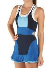 SIZE 6 EXTRA-SMALL ADIDAS BARRICADE STELLA MCCARTNEY TENNIS WOMENS DRESS - MULTI