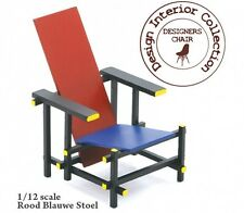 Reac Japan Design Interior Collection 1/12 Scale Miniature Chair Rietveld