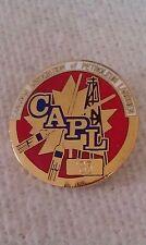 CURLING PIN CANADIAN ASSOCIATION of PETROLEUM LANDMEN CAPL 1985