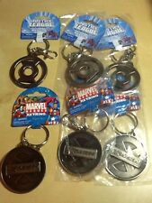 Lot (6) New~ Marvel DC Green Lantern & X-Men Logo Metal Key Chain