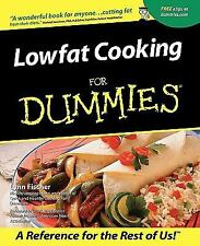 Lowfat Cooking for Dummies, Fischer, Lynn, Good Book