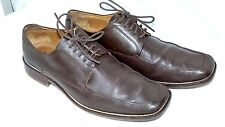 Zara Classic Brown Leather Shoes Lace Up  Men's Smart Dress UK 9