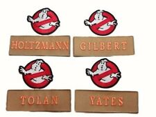 GHOSTBUSTERS III New Movie Names and No Ghost Logos Set of 8 Embroidered PATCHES