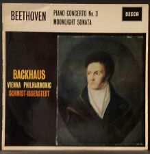 DECCA SXLA 2190 WB BEETHOVEN PIANO CONCERTO 3 BACKHAUS ISSERSTEDT  AUS 1ST PRESS