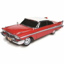 Autoworld 1958 Plymouth Fury CHRISTINE Night Time Verison AWSS102 1:18 Red