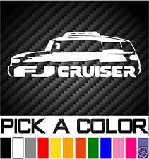 TOYOTA FJ CRUISER TEAM OFFROAD VINYL DECAL STICKER 4X4 AWD OFFROAD OFFROADING