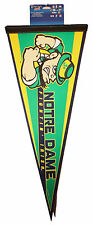 "Notre Dame Fighting Irish NCAA single-sided screen printed Pennant Size 12""x30"""
