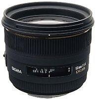 Obiettivo SIGMA 50 mm f/1.4 Dg Hsm Ex Obiettivo Per Canon