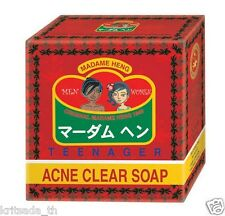 150 g Acne Clear Soap Madame Heng Anti Pimples Face Neck Body Tea Tree Herbal