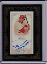 MIKE MORSE 2012 Topps Allen Ginter FRAMED MINI AUTO Nationals Autograph Michael
