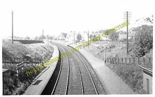 Stoneywood Railway Station Photo. Bankhead - Dyce. Aberdeen to Parkhill Line