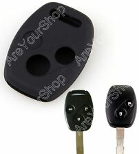 Silicone Remote Key Cover Case Protective For Accord Odyssey CR-V Civic B K
