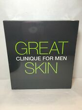 CLINIQUE FOR MEN - FACE WASH EXFOLIATOR LOTION - ITEM IS BOXED & NEW