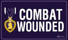PURPLE HEART COMBAT WOUNDED 3 X 5  FLAG banner FL681 NEW 3x5 MILITARY flags 3X5