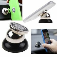 360° Rotating Universal In Car Magnetic Dash Mount Holder For iPhone 6S Plus 5C