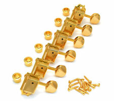 Gold Gotoh Locking Tuners For Fender Stratocaster and Squire Guitars