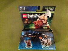 lego dimensions 71220 lords of the ring gimli axe chariot pack brand new sealed