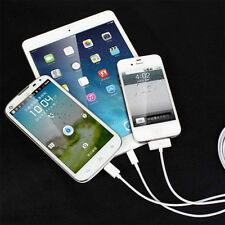 3 In 1 Micro USB New Charging Cable For iphone 4 4S 6 Android Phone