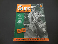 Guns Magazine August 1959 Africa's Great Gray Ghost Where to Hunt Trophies