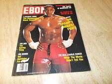 1989 EBONY MAGAZINE, FEATURES MIKE TYSON ON COVER