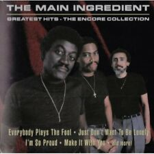 Greatest Hits - Main Ingredient (2000, CD NEUF)
