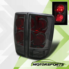 1995-2005 Chevy Blazer/Jimmy/Bravada Smoked Altezza Tail Lights Lamps Pair