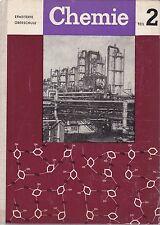 Chemie Teil 2 Klasse 10/11/12, DDR Lehrbuch, Volk und Wissen 1967