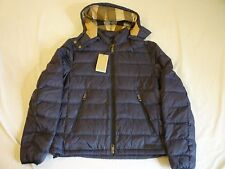 BURBERRY BRIT Mitchson Down Jacket Mens M $595 Navy New With Tags