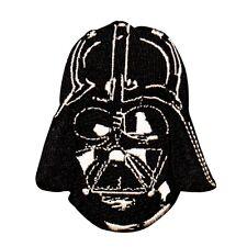 Darth Vader Helmet Anakin Skywalker Star Wars Embroidered Iron On Applique Patch