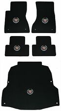 Lloyd Mats LUXE 5PC MAT SET 2003-2007 Cadillac CTS *Silver Crest on All 5 Mats*