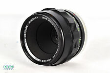 Minolta MC 50mm f/3.5 Macro Rokkor QF Manual Focus Lens