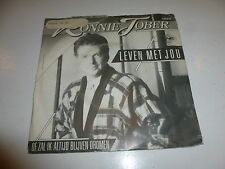 "RONNIE TOBER - Leven Met Jou - 1986 Dutch 2-track 7"" Juke Box Single"
