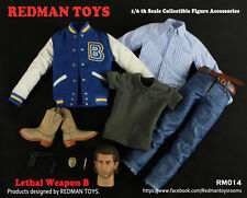 "Redman Toys RM 1/6 Scale 12"" Lethal Weapon A Accessory Set RM015"